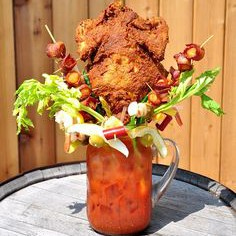 Sobelman's Pub & Grill $50 Bloody Mary helps feed the hungry in more ways than one. via Daily Mail