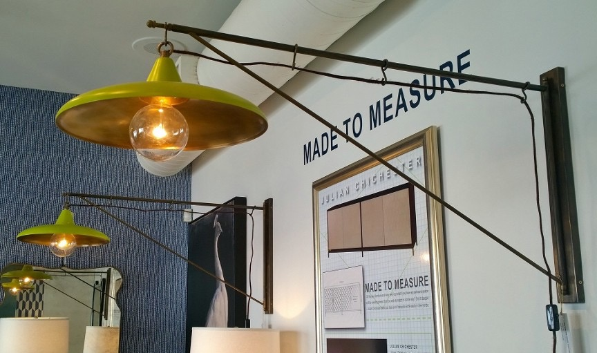 Kelly loved this light fixture from Julian Chichester.