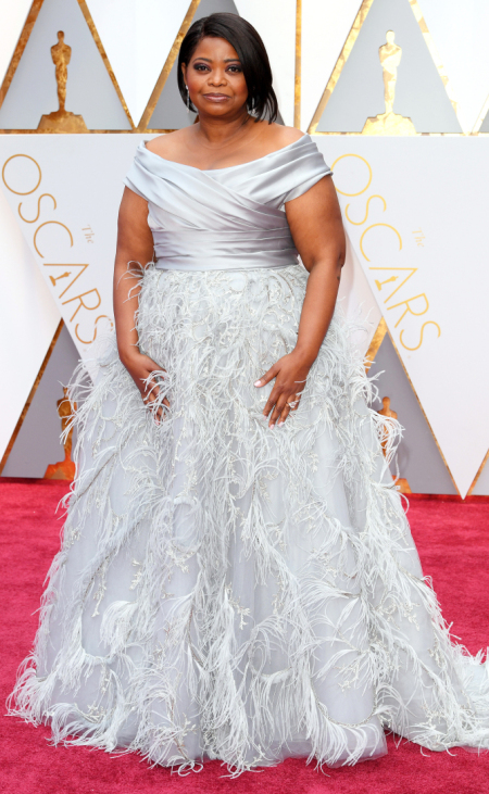 Mandatory Credit: Photo by David Fisher/REX/Shutterstock (8434880cl) Octavia Spencer 89th Annual Academy Awards, Arrivals, Los Angeles, USA - 26 Feb 2017