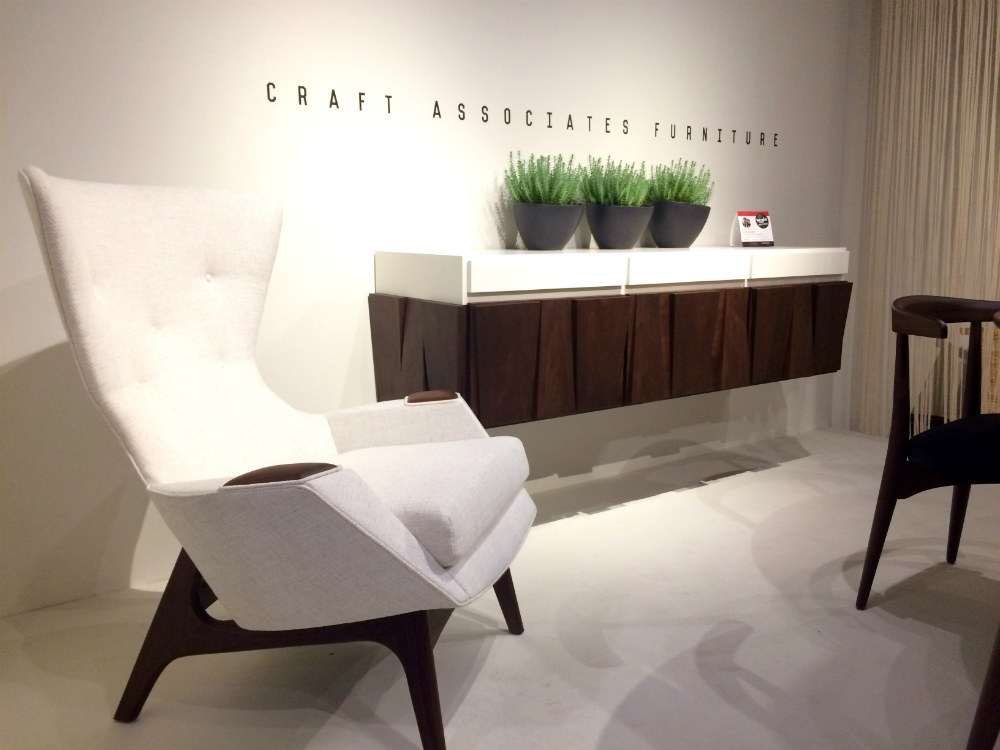 We Want It Craft Associates Console and Chair