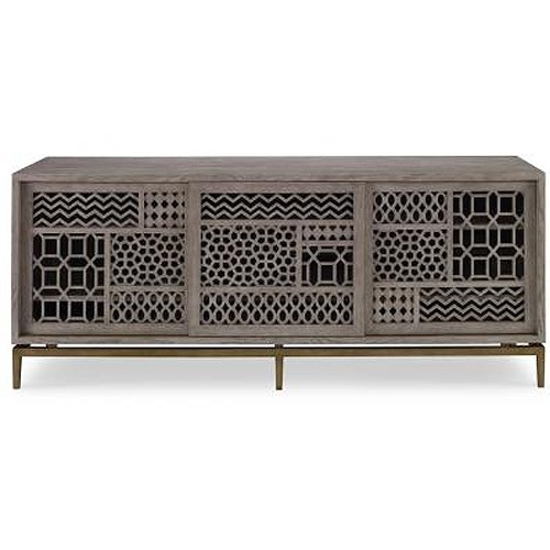 The Tito cabinet from Mr. Brown Home is a stylish option for AV equipment. We spotted this beauty at High Point Market a year or two ago and STILL want it -- time to pull the trigger!