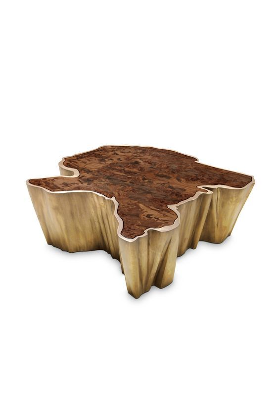 Sequoia Center Table by Brabbu