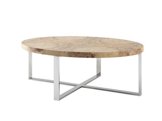 Norbro Burl Coffee Table from Kravet
